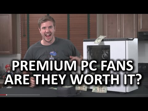 Premium PC Cooling Fans - Are they worth it? [CORRECTED GRAPHS]