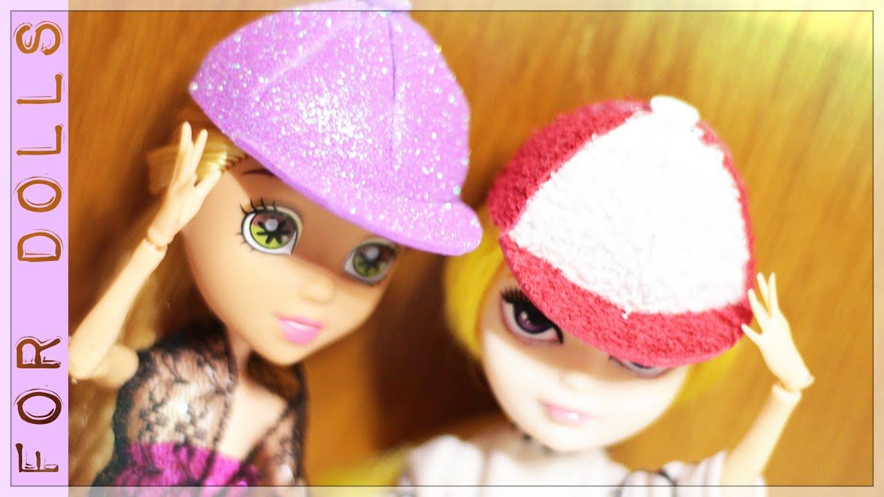 Как сделать шапку для куклы своими руками 3