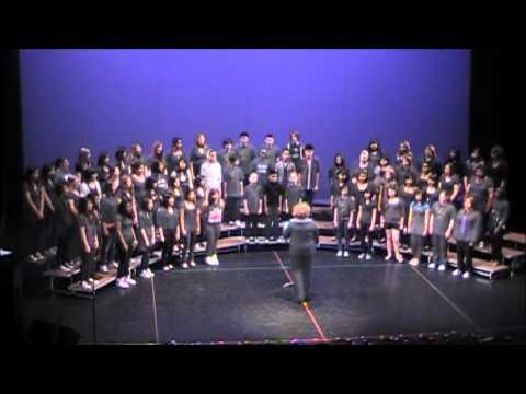 Take Note 2011 - Winnipeg School Division's Junior High Choir - Earth Song (HD)