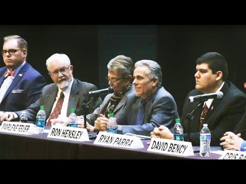 2016 Rio Rancho NM City Councilor Candidate Forum