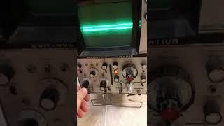 hp 180a oscilloscope control data corporation 1801a 1821a