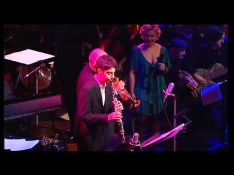 15 year old Adrian Galante sits in with James Morrison, Emma Pask and WASO 2011 Mack the knife
