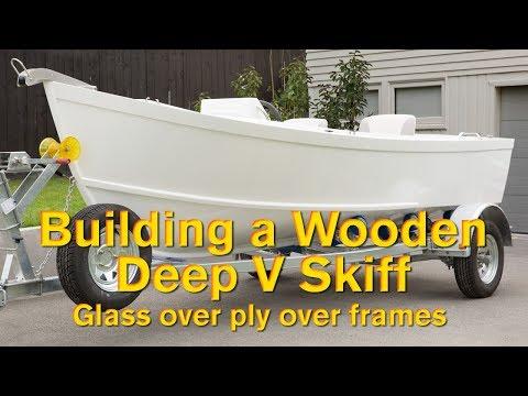 Building a Wooden Deep V Skiff