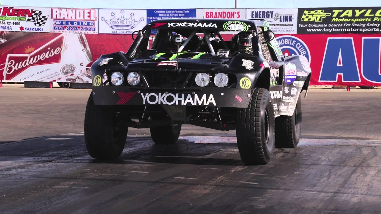 Baja trophy truck vs boss 302 and raptor hot rod unlimited episode 17 youtube