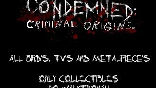 Condemned Chapter 10 - Birds, TVs and Metalpieces