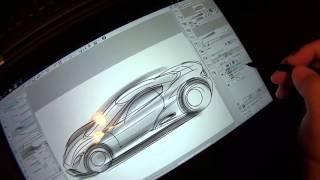 Lenovo Thinkpad Yoga 14 6th gen Core CPU quick sketch test