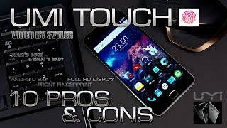 UMI Touch (10 Real Pros & Cons) is this smartphone worth it? // Video by s7yler