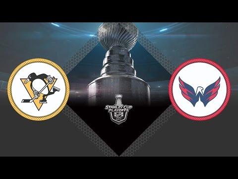 Обзор матча Питтсбург - Вашингтон / PENGUINS VS CAPITALS MAY 6, 2017, GM 5 HIGHLIGHTS