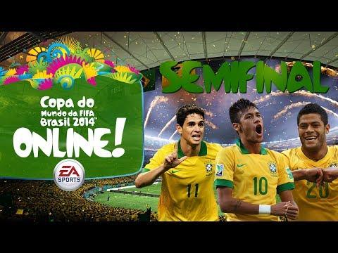 Copa do Mundo Online! - Semifinal - Brasil x Holanda - 2014 Fifa World Cup Brazil