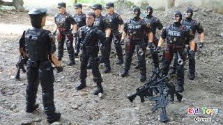 Police team Police Toys Police Gun Toys for KIDS