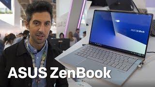 Asus ZenBook hands-on: Razor thin bezels