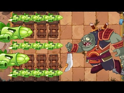 Plants Vs Zombies 2 Esparragos Vs Jefe Final Kung Fu World