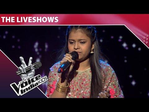 Niharika Nath Performs on Tare Hain Barati   The Voice India Kids   Episode 26