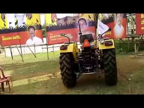 Amazing Video... Zero Cut With Tractor. Stunt Without Driver. video