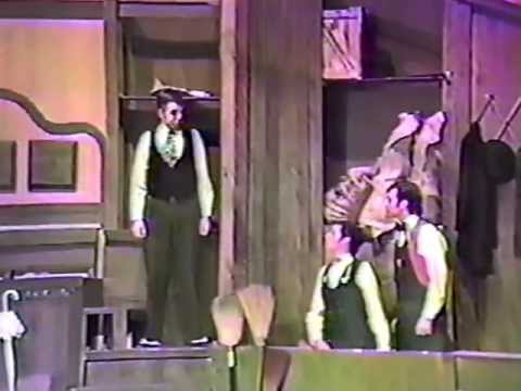 """Hello Dolly!"" at NHS in Muncie, Indiana Spring Time 1988 (1)"