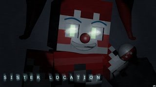 Baby: A Sister Location Minecraft FNAF Blender Render