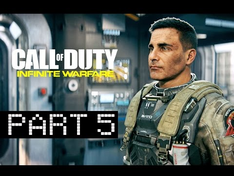 Call of Duty Infinite Warfare Walkthrough Part 5 - Saturn: Burn Water (Let's Play Commentary)