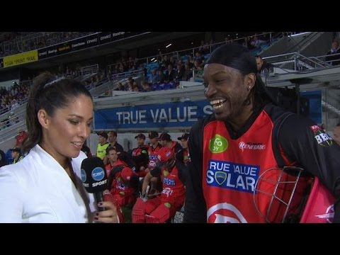 Cricketer Chris Gayle Asks Reporter Out On Live TV Melanie McLaughlin