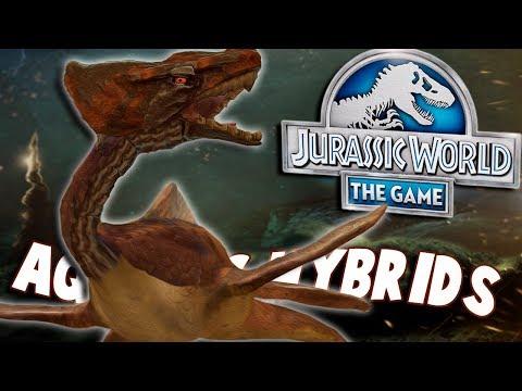 Aquatic Cenozoic Hybrids Confirmed Jurassic World The Game