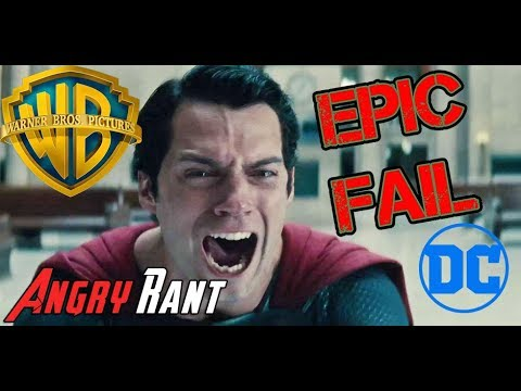 Henry Cavill out as Superman?! DC ANGRY RANT!