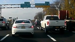New York road rage with a fight