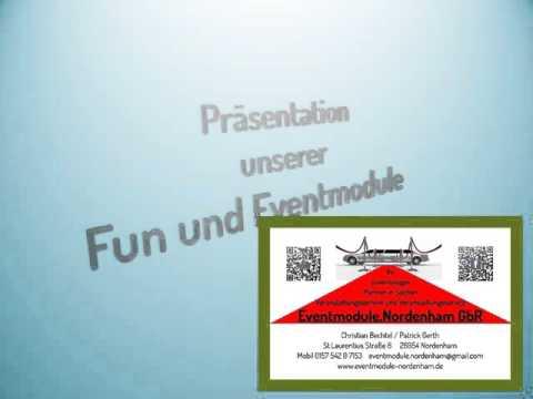Präsentation Eventmodule.Nordenham Fun & Eventmodule