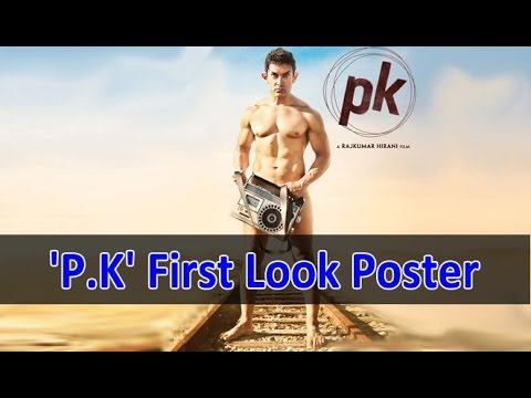 Aamir Khan Bares All (Almost) In 'P.K' First Look Poster