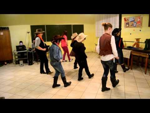 Nauka Tańca Liniowego Country - Pisarzowice K/ Toszka. Lekcja 2.