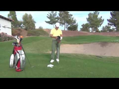 Tour Striker Smart Ball Practice Session With Martin Chuck