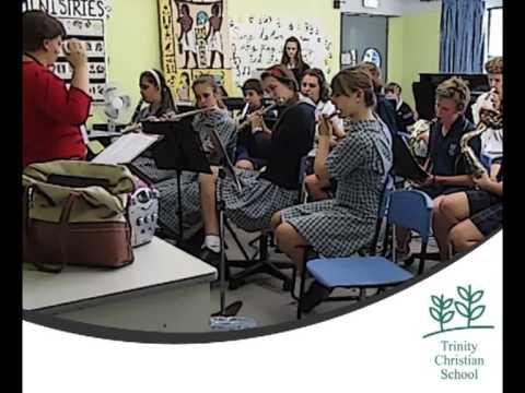 Music Rehearsal for NZ tour - Trinity Christian School