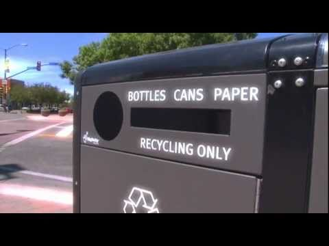 view Solar Bellys - Compacting/Recycling video