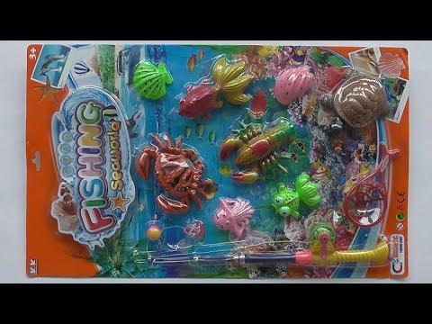Game Fishing Seaworld ของเล่นเบ็ดตกกุ้ง หอย ปู ปลา