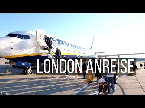 Köln nach London mit Ryanair • London Anreise • Weltreise | VLOG #363