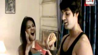 Jennifer Winget Celebrating Karan Wahi Birthday with Telly Tadka