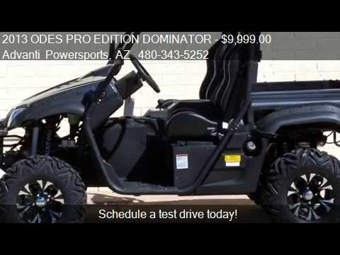 2013 ODES PRO EDITION DOMINATOR SIDE BU SIDE UTV - for sale
