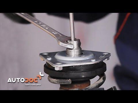 Wie MERCEDES-BENZ A W169 Domlager wechseln TUTORIAL | AUTODOC