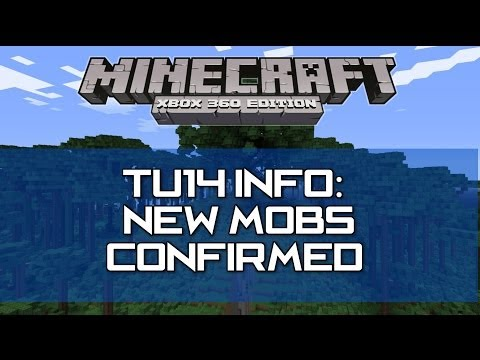 Minecraft Xbox 360 & PS3 -TU14 Update Info : New Confirmed Mobs !