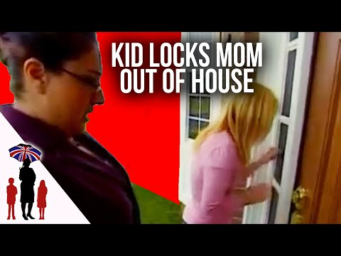 Kid Locks Mom & Supernanny Out Of House | Supernanny