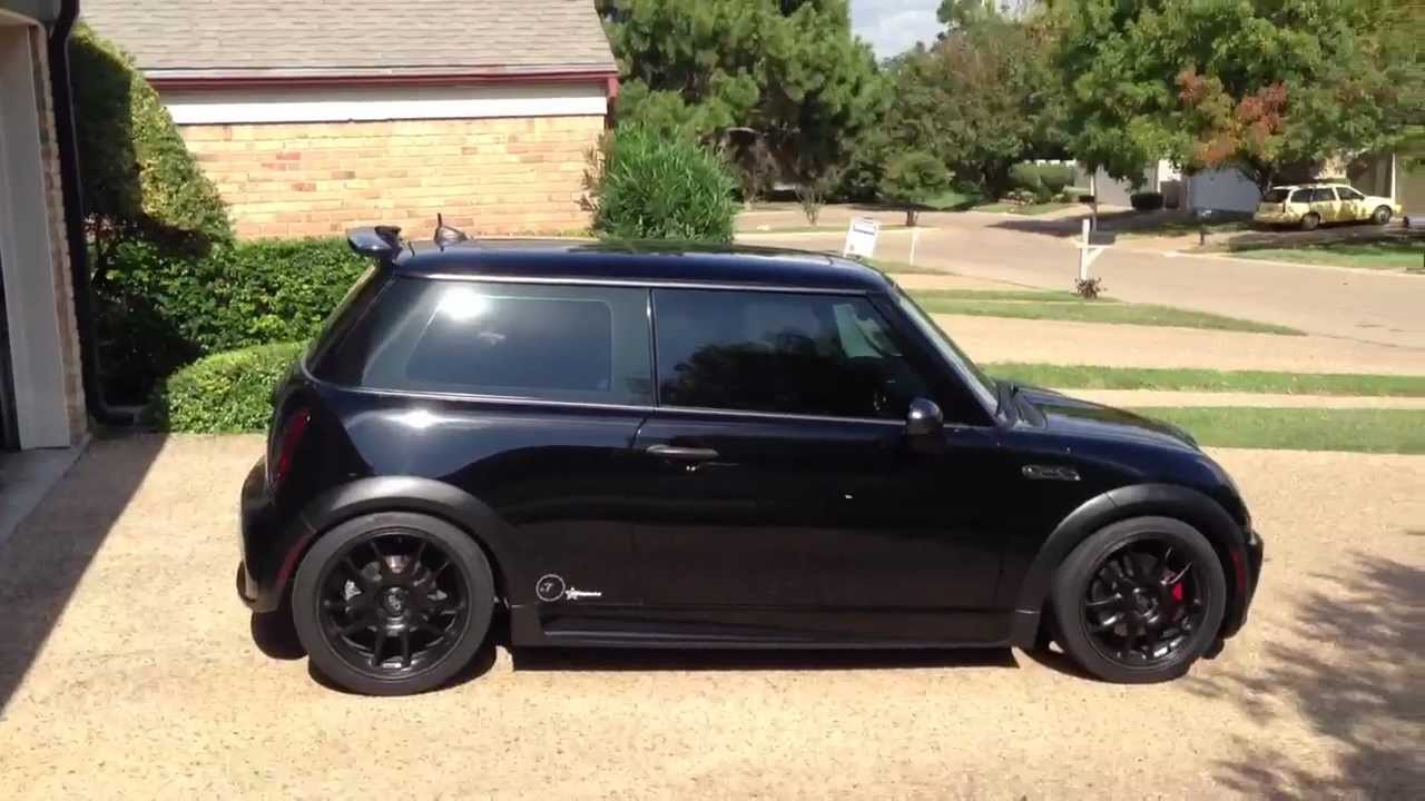 2005 Jet Black Mini Cooper S Supercharged Modded Youtube