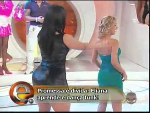Eliana Gostosa e Mulher Melancia Andressa Soares Dan�ando Funk SBT