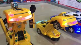 New Robot Car Transformation for Kids Review