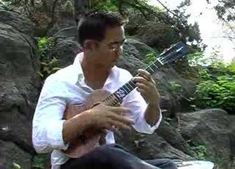 Ukulele weeps by Jake Shimabukuro