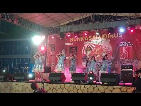 Download  JKT48 - RAPSODI   live Bunkasai UDINUS Gratis, download lagu terbaru