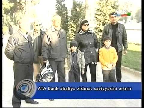 AtaBank.AtaMatik ATM is comfortable and close to your home! (AZTV)