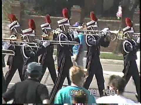 Orange Glen High School marching band @ the Buckboard Band Review '91