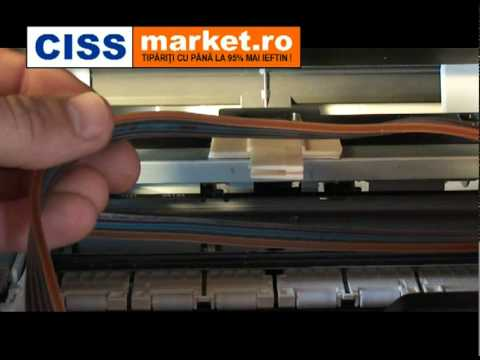 CISS pt. Canon MP550 - Ghid de instalare - CISSmarket