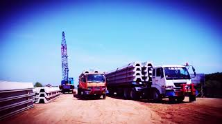 GELS Construction Pancang sheet pile Pekalongan