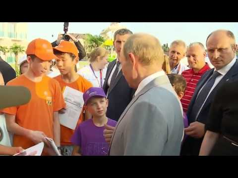 Мальчик поставил Путина в тупик своим вопросом )))