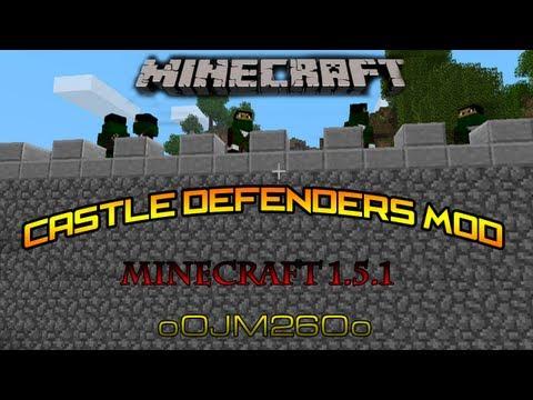 Castle Defenders MOD Instalacion + Review   Minecraft 1.5.1