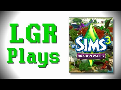 LGR Plays - The Sims 3 [Dragon Valley]